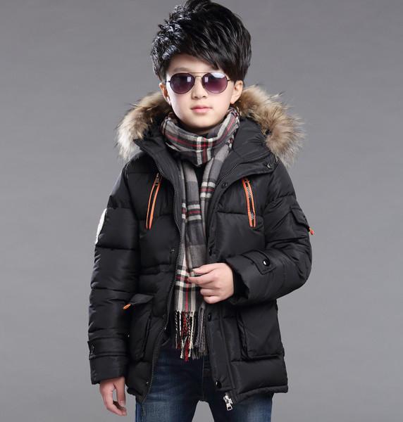 Модные детские куртки зимние с мехом