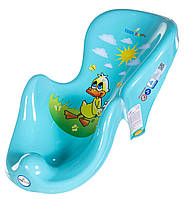 Горка для купания ребёнка Balbinka Tega Baby, бирюзовая
