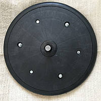 """Прикотуюче колесо в зборі ( диск поліпропілен ) з підшипником 1"""" x 12"""", John Deere, AA43899, з підшипником 885, фото 1"""