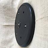 """Прикотуюче колесо в зборі ( диск поліпропілен ) з підшипником 1"""" x 12"""", John Deere, AA43899, з підшипником 885, фото 5"""