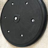 """Прикотуюче колесо в зборі ( диск поліпропілен ) з підшипником 1"""" x 12"""", John Deere, AA43899, з підшипником 885, фото 6"""