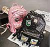 Городской рюкзак женский черный, фото 4