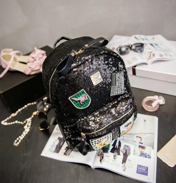 Городской рюкзак женский черный