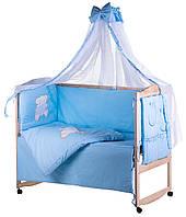 Комплект детского постельного белья в кроватку 60487 Qvatro