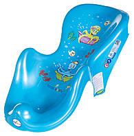 Горка для купания ребенка «Osmiorniczka» OS-003 Tega Baby, голубая