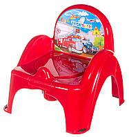 Детский горшок - кресло «Cars» 620514 Tega Baby, красный
