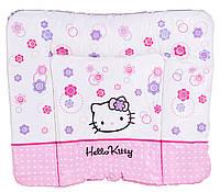 Пеленатор мягкий большой «Hello Kitty» TP-134 Tega Beby, белый
