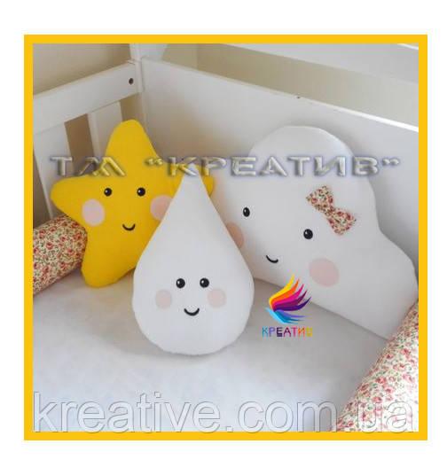 Подушка игрушка с вашим логотипом под заказ (от 50 шт.)