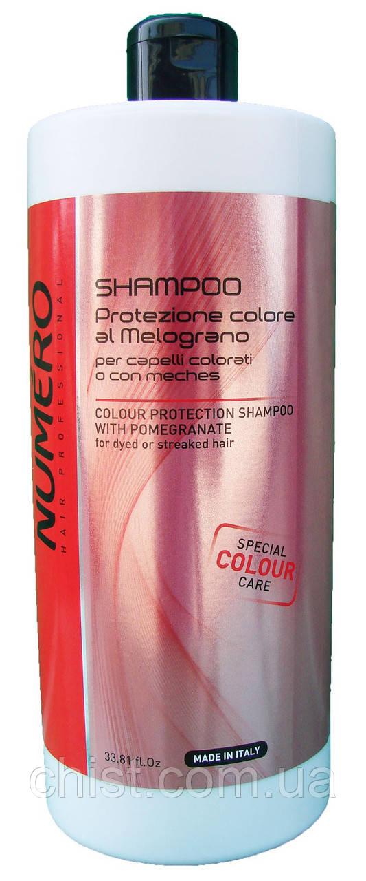 Brelil Numero Шампунь для защиты цвета волос с экстрактом граната - (1