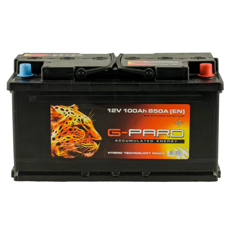Аккумулятор G-Pard Standart 100 Ah (0) 850A R+