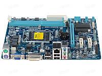 Материнская плата Gigabyte GA-H61M-DS2 DVI Intel H61, s1155, mATX б/у