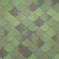 Битумная черепица Tegola / Тегола Линия Премиум Версаль Зеленый Смеральдо