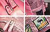 Городской рюкзак женский розовый, фото 7