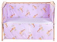 Комплект защиты на стеночки в кроватке«Gold» Qvatro 620996