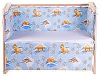 Комплект защиты на стеночки в кроватке Qvatro 620992