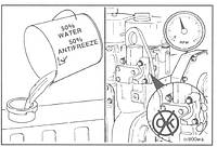 Ремонт системы охлаждения двигателя Cummins