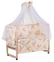 Комплект детского постельного белья в кроватку «Gold» 60241Qvatro