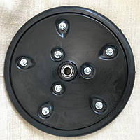 """Прикотуюче колесо в зборі ( диск металевий) з підшипником  1"""" x 12"""", HORSCH, 95110576, з підшипником 885152, 8"""