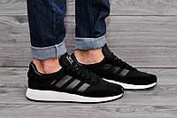 Стильные мужские черные кроссовки адидас, кроссовки Adidas