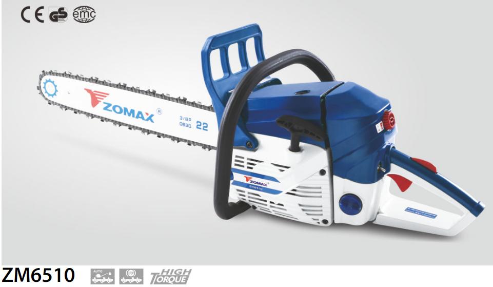 Бензопила Zomax ZM 6510