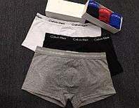 Мужские Трусы Боксеры Calvin Klein Кельвин Кляйн 365 Хлопок 5 Цветов