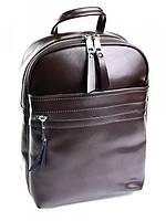 Рюкзак женский - сумка кожаная 617G Coffee