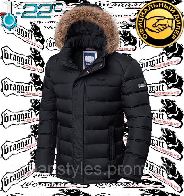 Куртка зимняя с опушкой Braggart