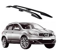 Рейлинги Nissan Qashqai 2007-2014 с пластиковым креплением