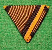 Колодка-лента для Военной Медали 1873 года Kriegsmedaille Австро-Венгрия к06