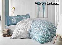 Постельное белье евро комплектAltinbasak (Турция), Vizyon turkuan  евро