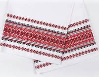Вышитый рушник для обрядов в украинском стиле