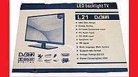 "LCD LED Телевизор L21 19"" DVB - T2 12v/220v HDMI IN/USB/VGA/SCART/COAX OUT/PC AUDIO IN, фото 1"