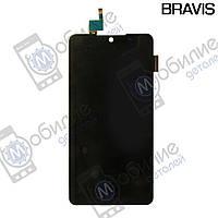 Дисплей с сенсорным стеклом Bravis Trend Black