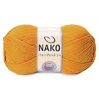 Nako Pure Wool 3,5  - 10429 желтый
