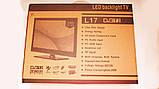 "LCD LED Телевизор L17 15,6"" DVB - T2 12v/220v HDMI IN/USB/VGA/SCART/COAX OUT/PC AUDIO IN, фото 7"