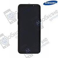 Дисплей Samsung S8 Plus (модуль экран + тачскрин) G955 Black