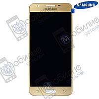 Дисплей Samsung J5 Prime 2016 (модуль экран + тачскрин) G570 Gold