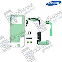 Клеющий слой дисплея Samsung S8 и прокладки для влагозащиты G950