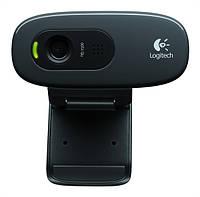 Веб-камера 1.3 Мп с микрофоном Logitech C270 Black (960-001063)