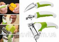 Набор для нарезки овощей и фруктов Triple Slicer 3 в 1