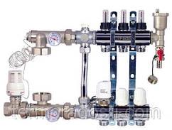 Коллектор в сборе для теплого пола FADO SEN03 (3 отвода)
