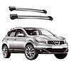 Поперечные рейлинги Nissan Qashqai 2007-2014