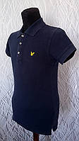 Стильная мужская футболка Lyle Scott Размер S синяя