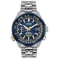 Мужские часы Citizen CB0147-59L Eco-Drive Blue Angels