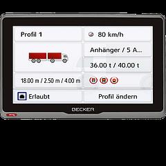 Навигатор BECKER TRANSIT 7SL EUROPA 200069