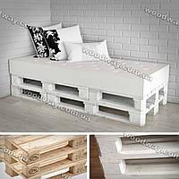 Кровать из поддонов, мебель из деревянных паллет для спальни