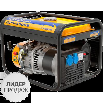 Генератор бензиновый Sadko GPS-3500В (2,8кВт), фото 2
