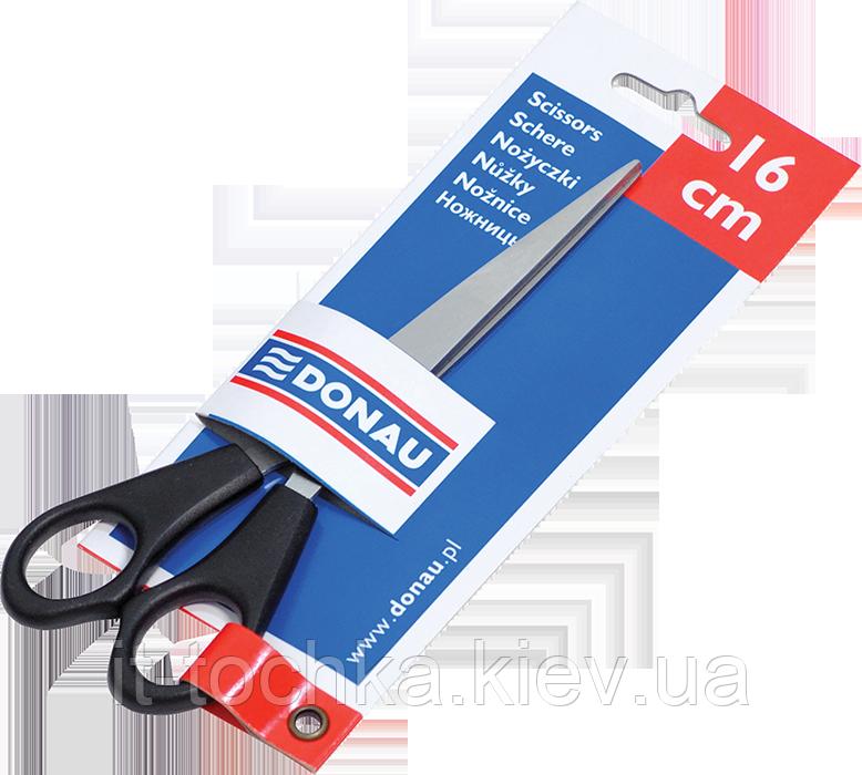 Ножницы офисные 16см, пластиковые ручки, открытый блистер 7922001
