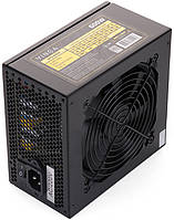 Блок питания Vinga 600W / 120 mm / 4xSATA / 4xIDE / 2x6+2pin / PFC / 80 Plus (VPS-600P)