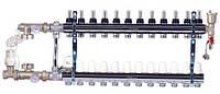 Коллектор в сборе для теплого пола FADO SEN12 (12 отводов)